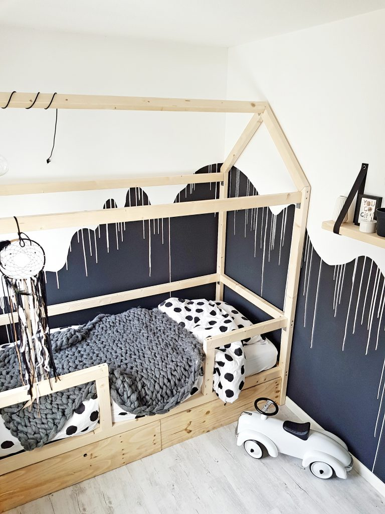 monochroom kinderkamer
