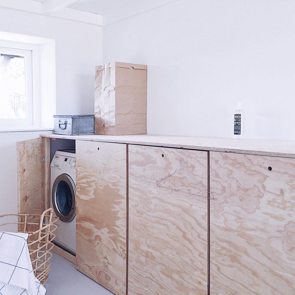 wasmachine verbergen