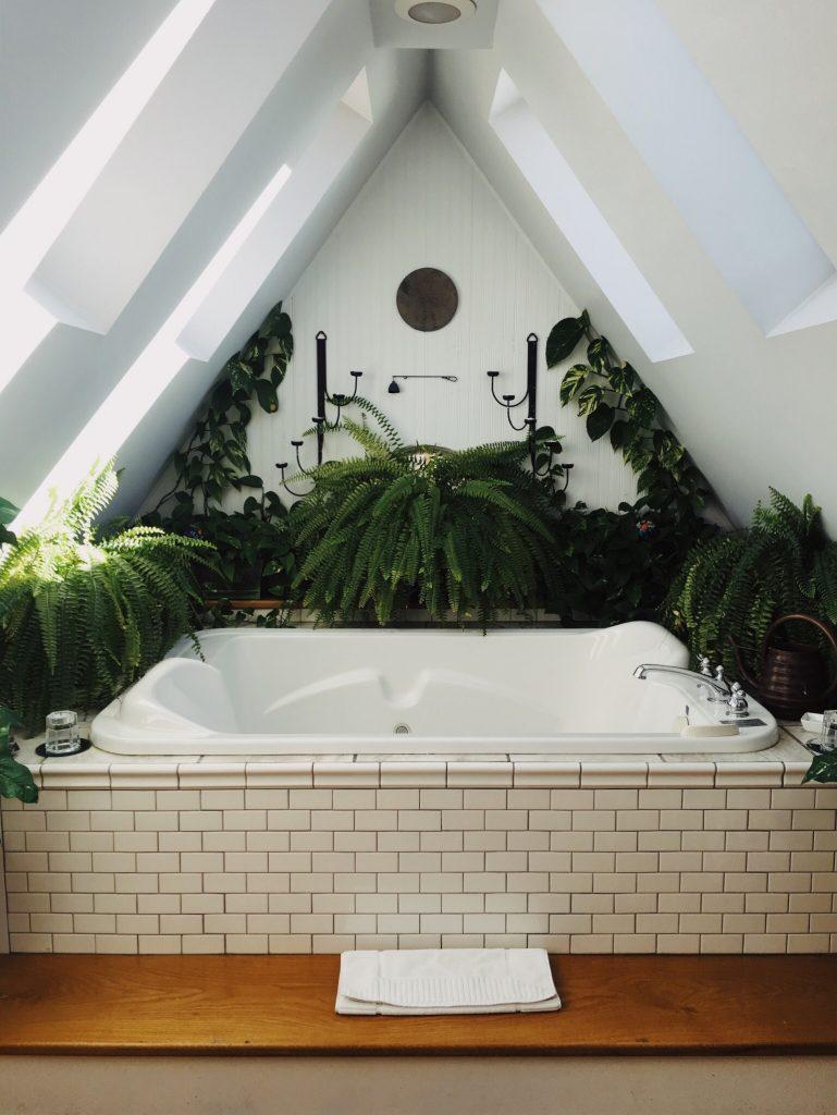 jungle badkamer