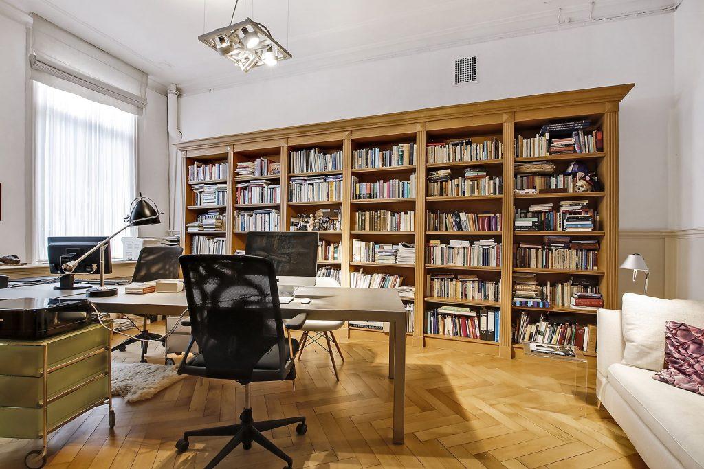 werkkamer bibliotheek