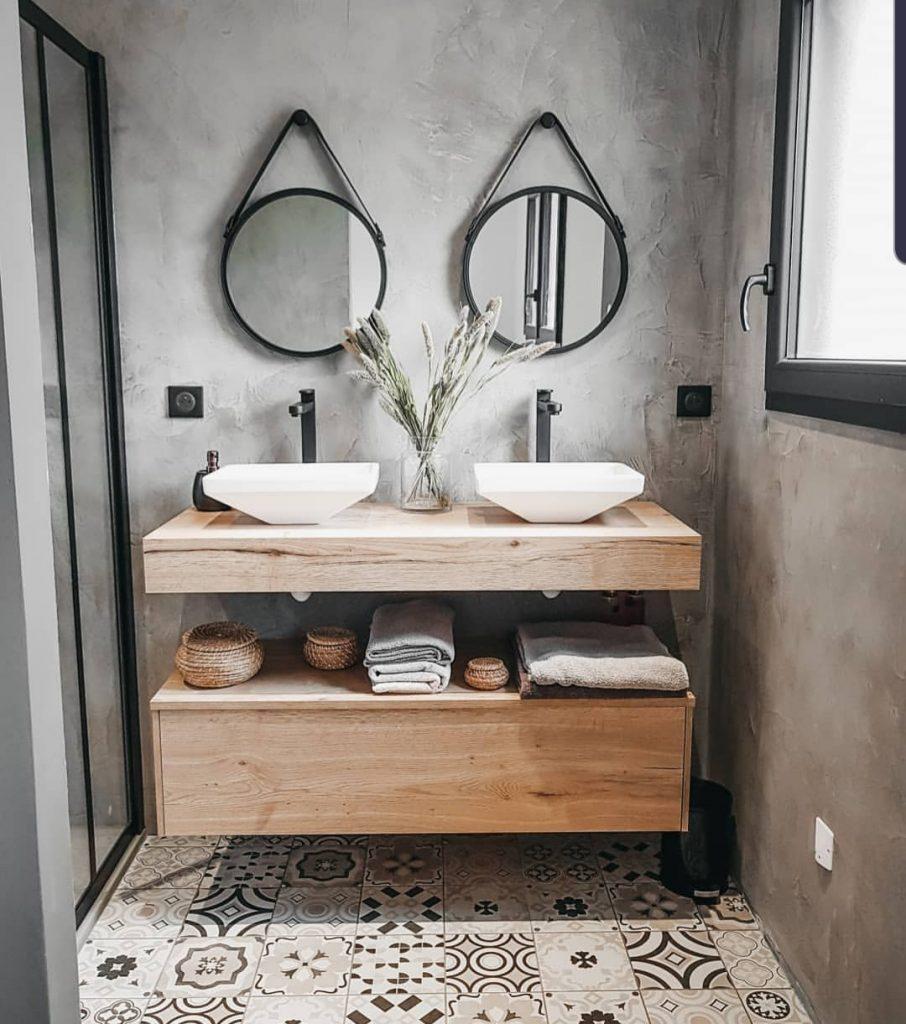betonciré badkamer