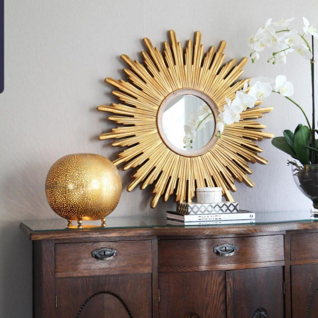 gouden interieur