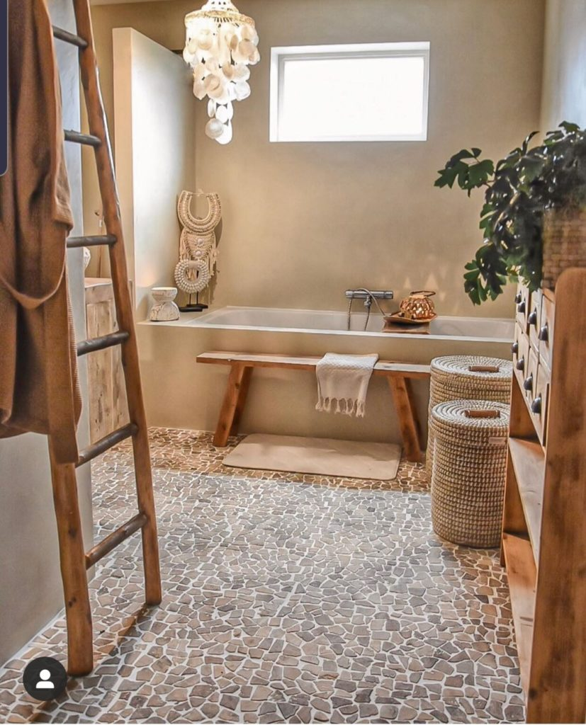 sfeervolle badkamer