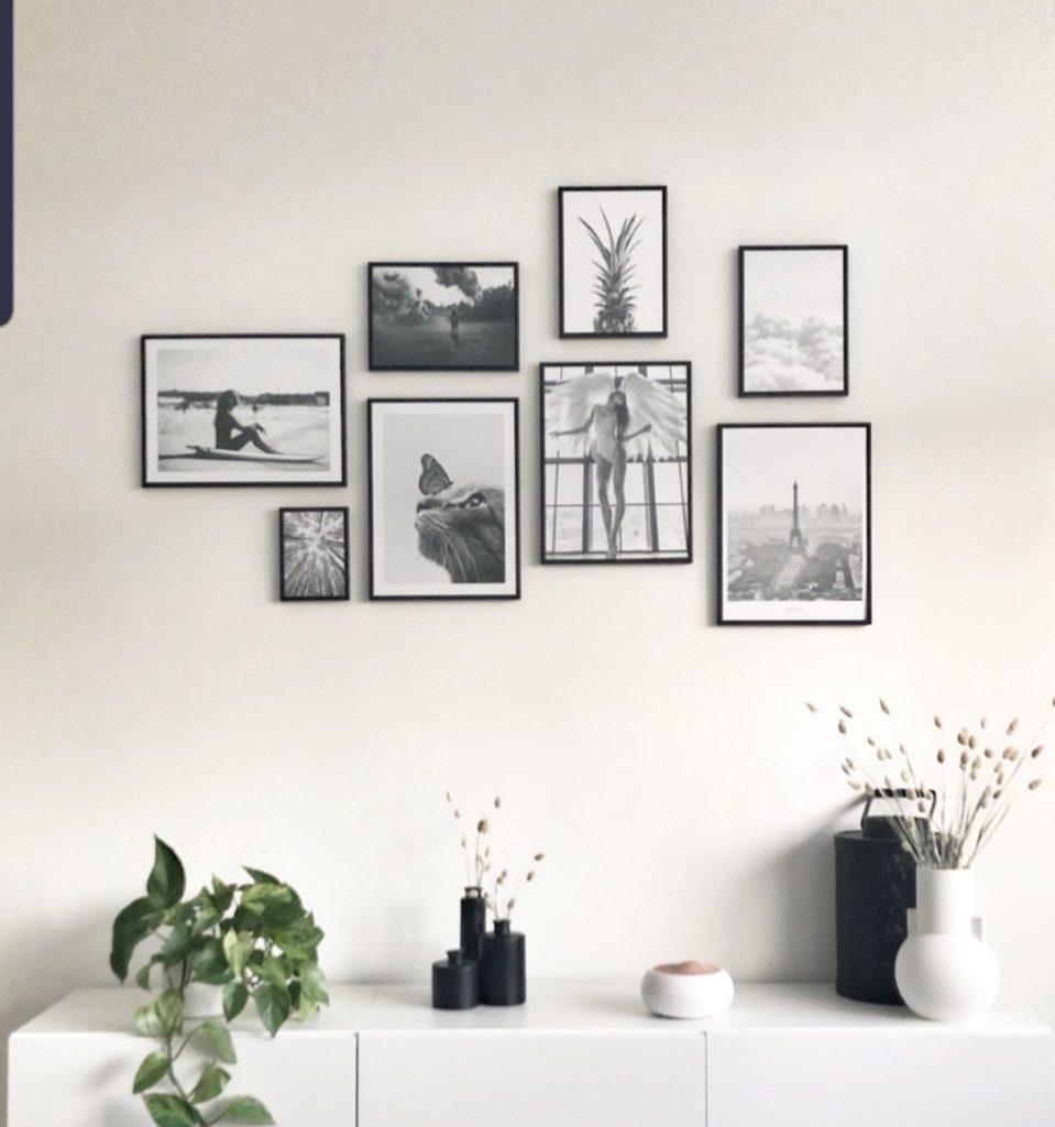 zwart wit posters