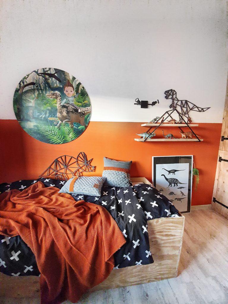 oranje kinderkamer