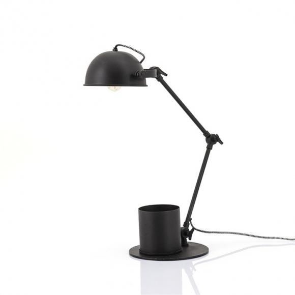 Tafellamp Hawk zwart metaal