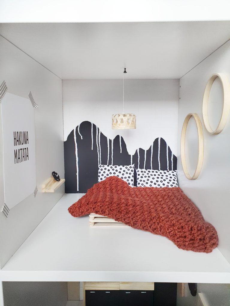 slaapkamer poppenhuis