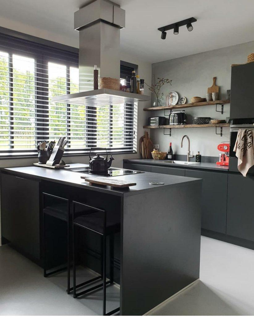 9x De Mooiste Zwarte Keukens Van Instagram Homefreak Nl