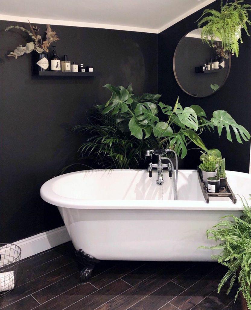 monochroom badkamer