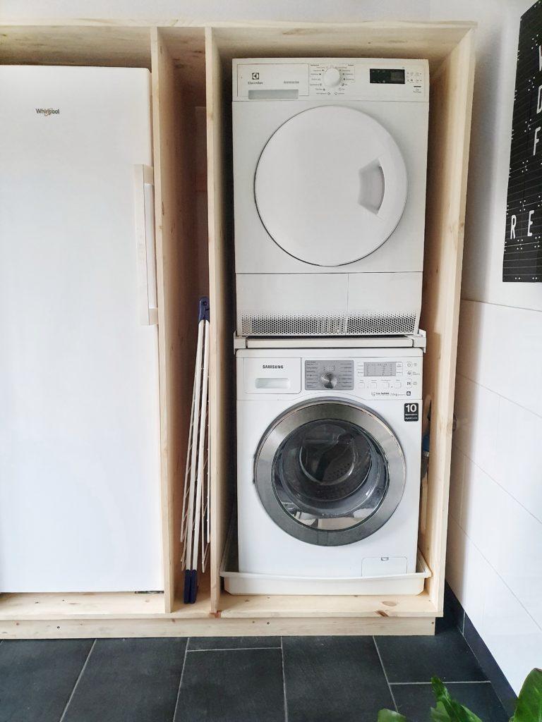 ombouw wasmachine maken