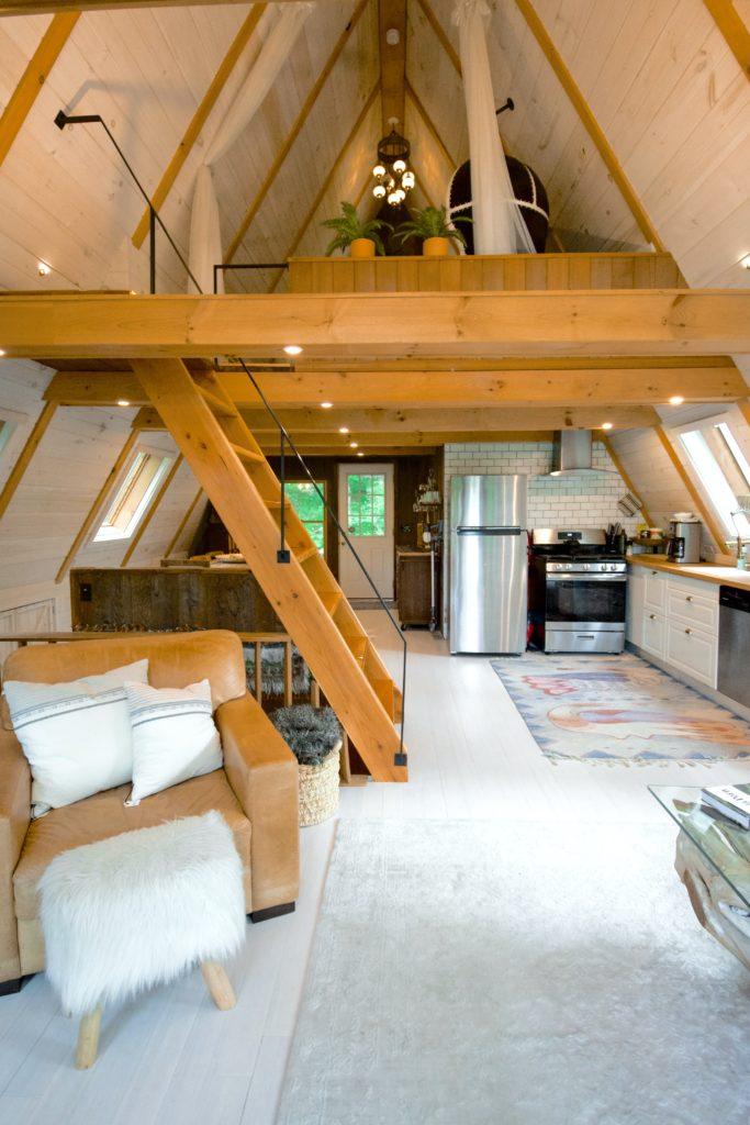 kleine woonkamer