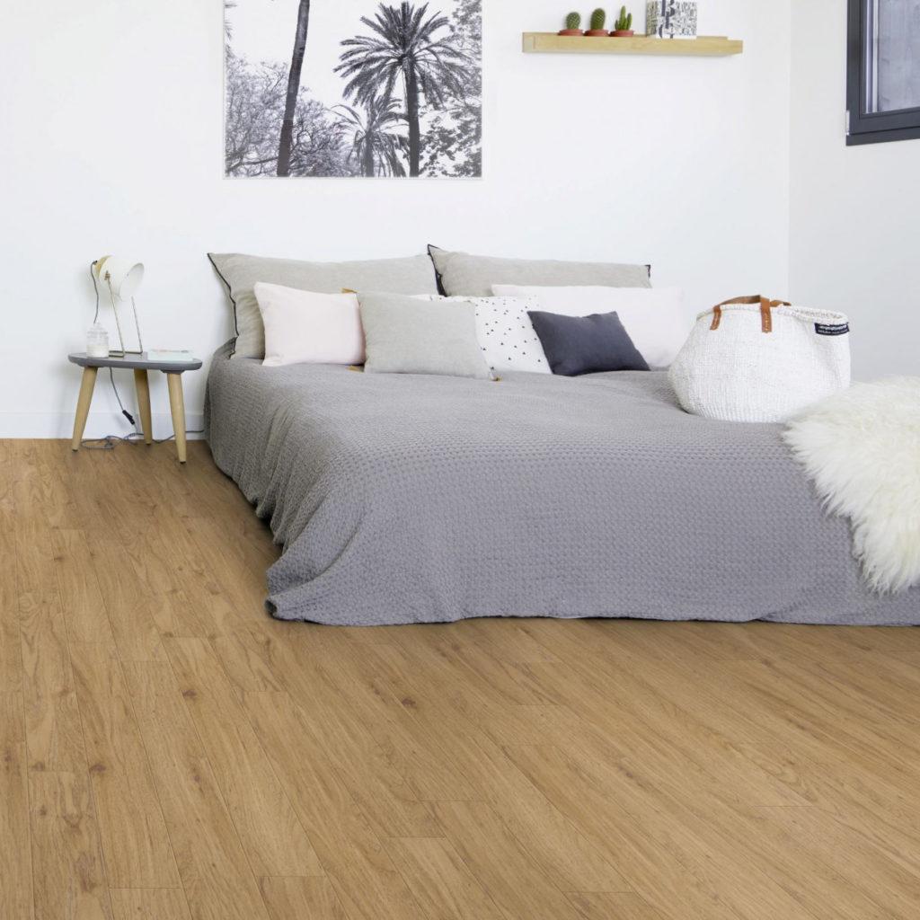 zelfklevende PVC vloer leggen
